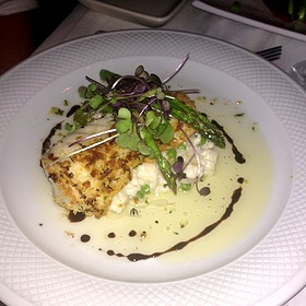 Crusted Grouper