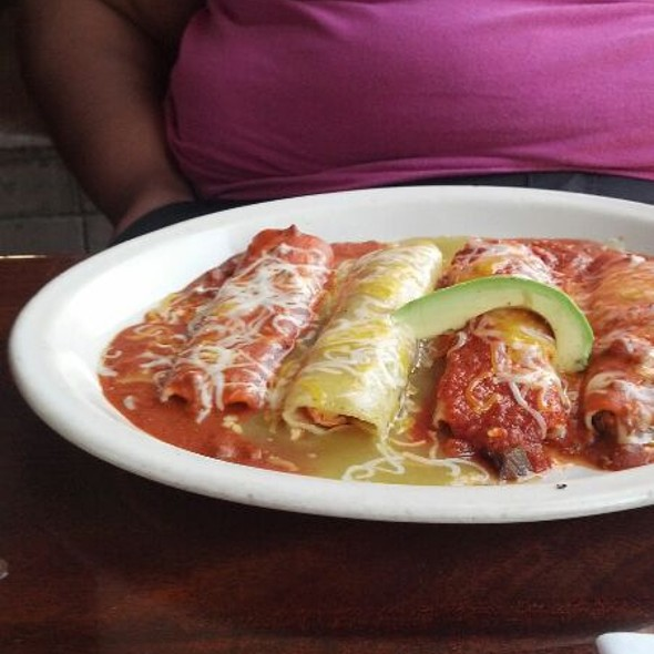 Combination Enchilada Plate