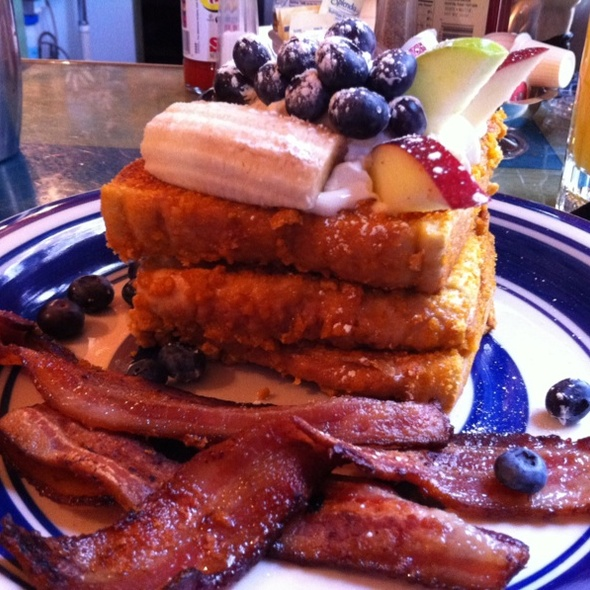 Captain Crunch French Toast @ Blue Moon Cafe