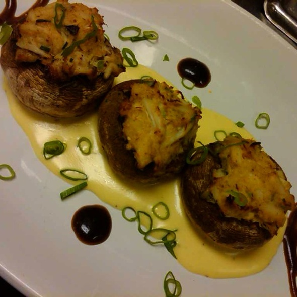 Stuffed Mushrooms W/crabmeat - Soffritto Italian Grill, Newark, DE