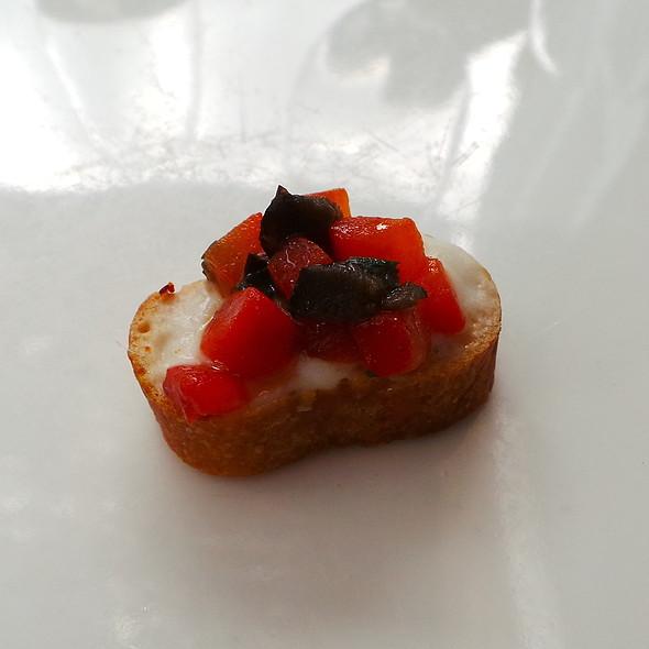 Pintxo: Bell Pepper Salad with Aioli @ Es Raco d'es Teix
