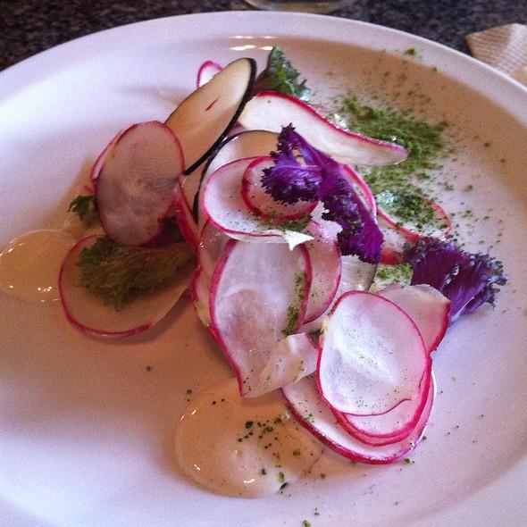 Radish Salad @ Gato Bizco Cafe