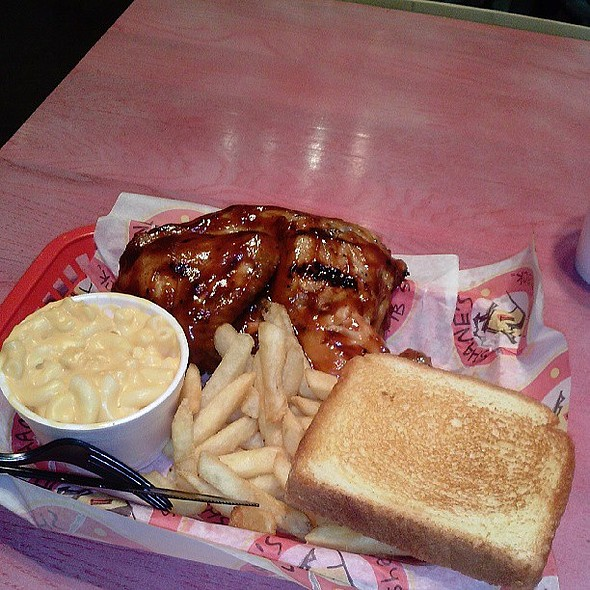 Half Chicken Plate @ Shanes's Rib Shack