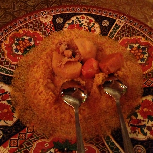Fifth Course @ Marrakesh