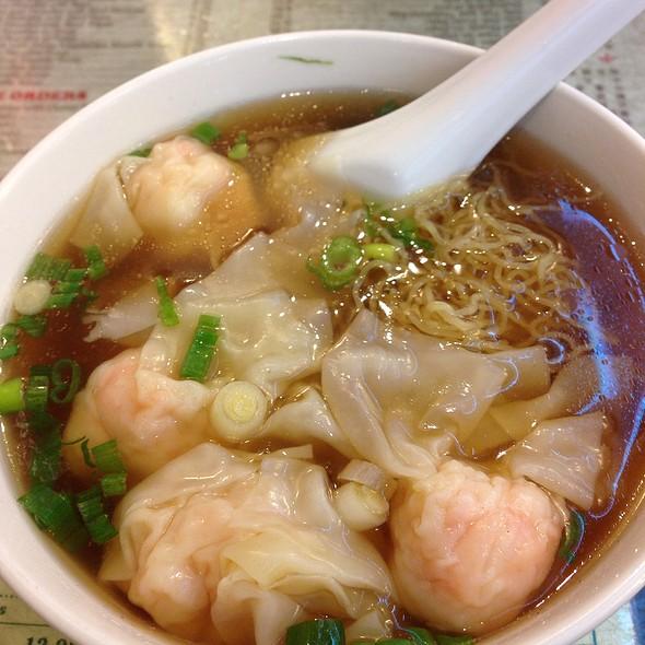 Wonton Noodle Soup @ Great NY Noodle Town Inc