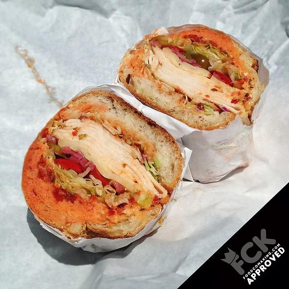 BBQ Chicken Sandwich @ Rhea's Deli
