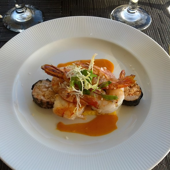 Coconut Chili Marinated Kauai Prawns - Makana Terrace - St. Regis - Hawaii, Princeville, HI
