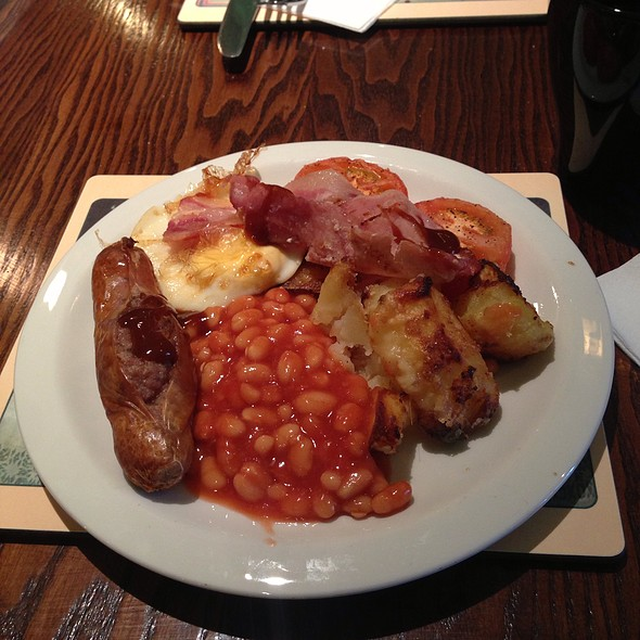 Full English Breakfast @ Toby Carvery