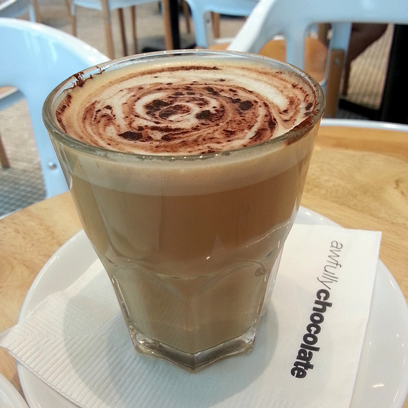 Cappuccino @ Awlfully Chocolate (Star Vista)