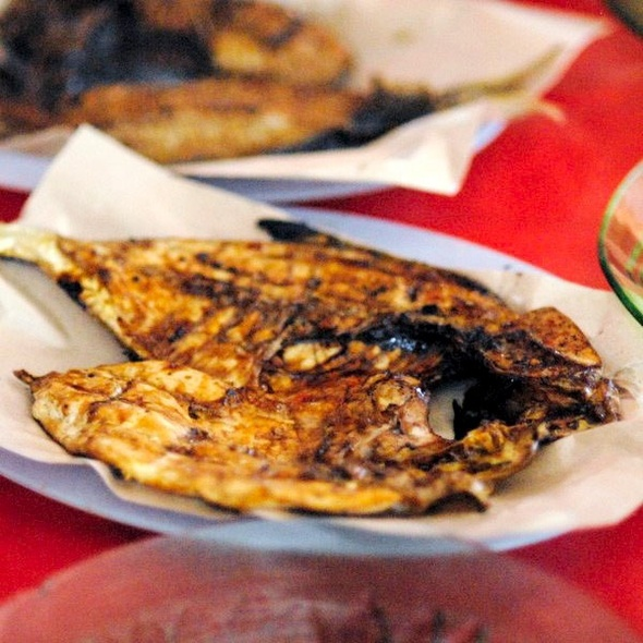 Charcoal Grilled Fish @ Belitong Island
