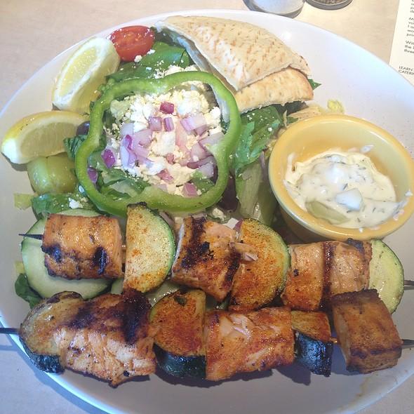 Zoes Kitchen Salmon Kabob zoes kitchen menu - houston, texas - foodspotting