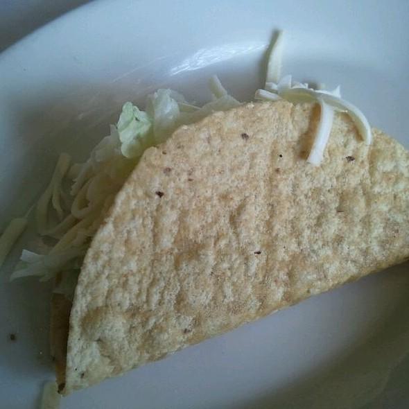 Beef Hard Shell Taco @ El Cozumel