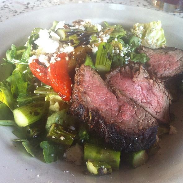 flank steak salad - Seasons Rotisserie & Grill, Albuquerque, NM