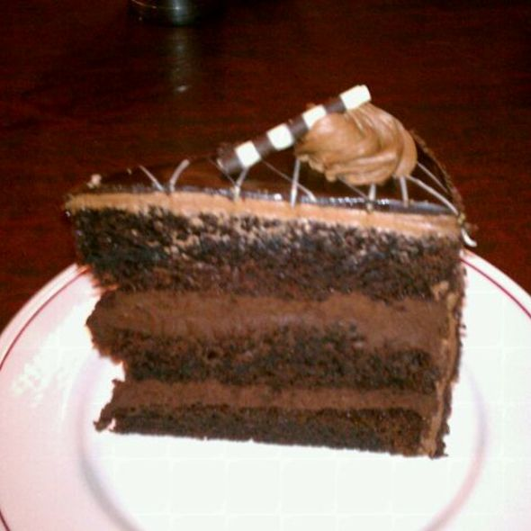 Chocolate Layer Cake @ Falcon Diner at Ameristar Casino
