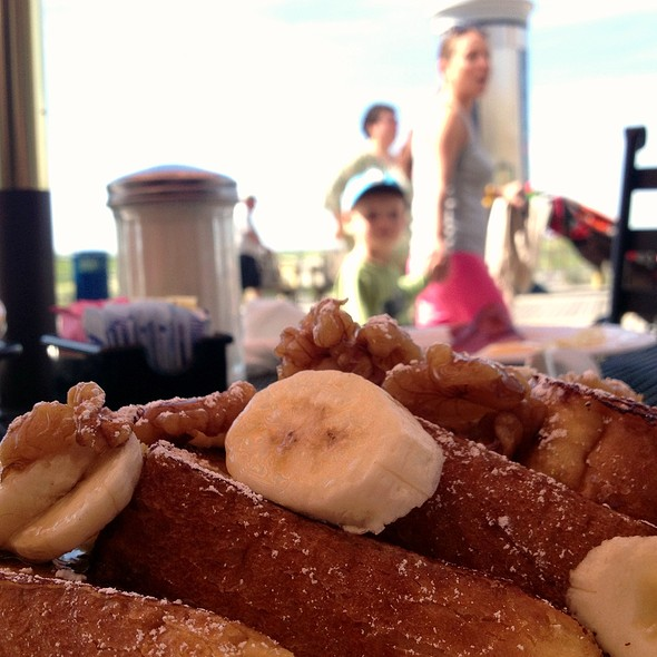 Banana Walnut French Toast @ Tommy's Seaside Grill & Pizza
