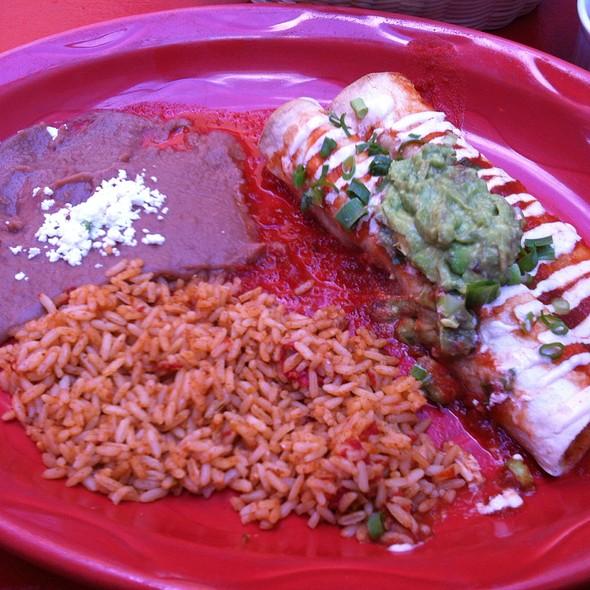 Chicken Burrito @ Hector's Casa