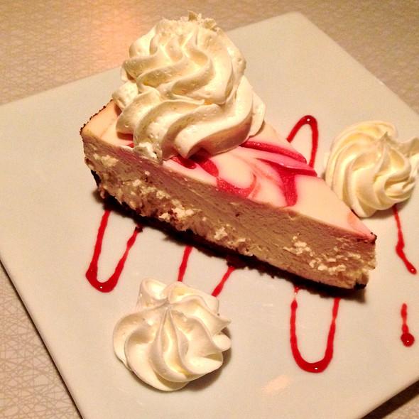 Raspberry White Choc Cheesecake And Mondavi Cab @ Darling's Diner