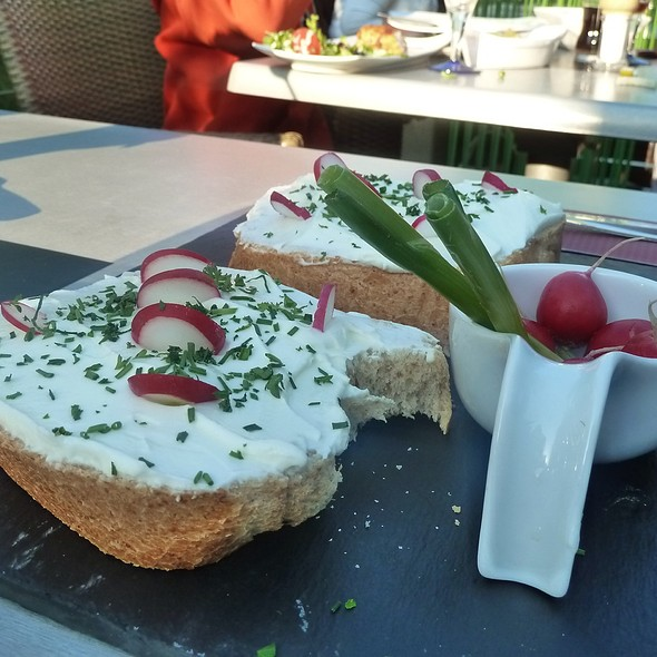 Fresh Cheese With Radishes