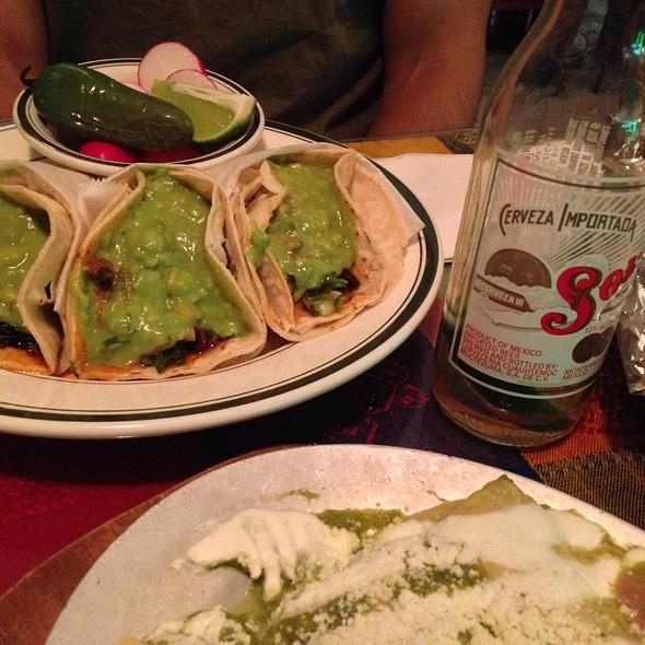 Tacos al Pastor @ Tulcingo Restaurant