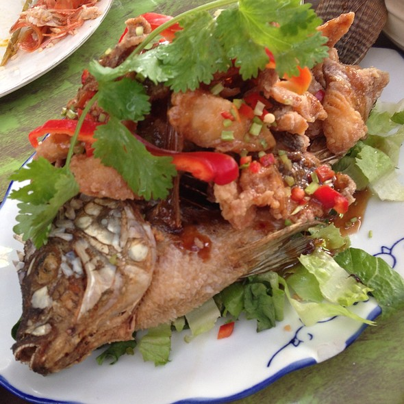 Tilapia Baked In Tamarind Sauce Recipe — Dishmaps