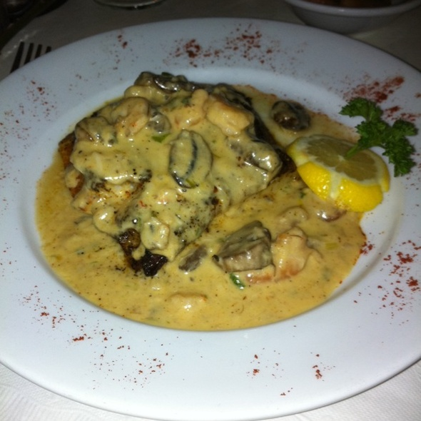 Blackened Grouper With Shrimp And Crab Sauce