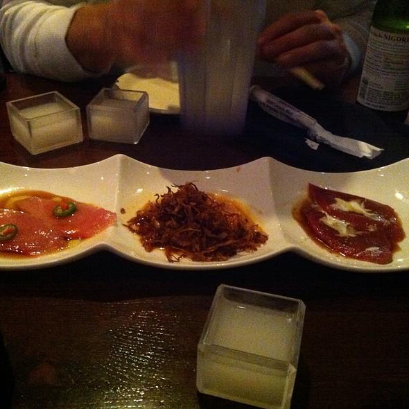 Sashimi Sampler @ Kanpai Japanese Sushi Bar & Grill
