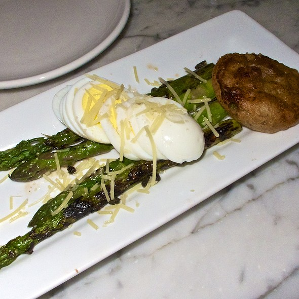 Grilled Asparagus - Gracie's, Portland, OR