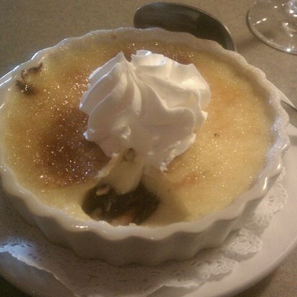 Black On Bottom Creme Brulee