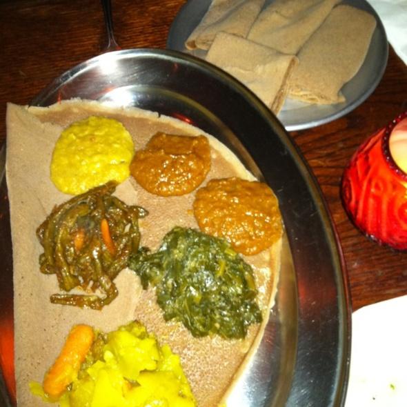 Veggie Sampler @ Ethiopian Meskel Restaurant