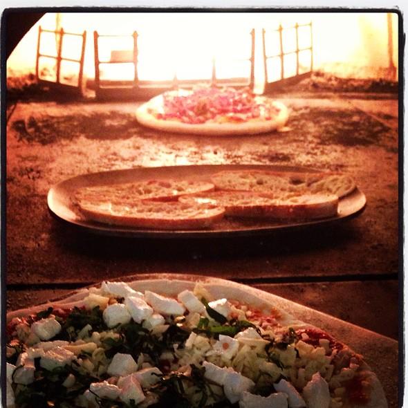 rustic pizza - Latitude 41, Columbus, OH
