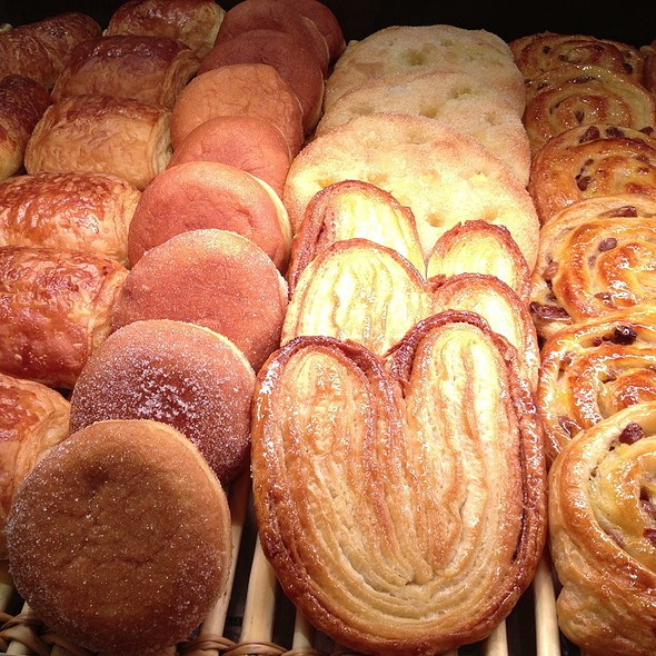 Assorted Bread @ Paul Bakery