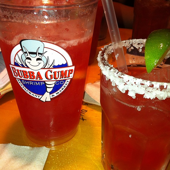 Blood Orange Margarita! @ Bubba Gump Shrimp Co.