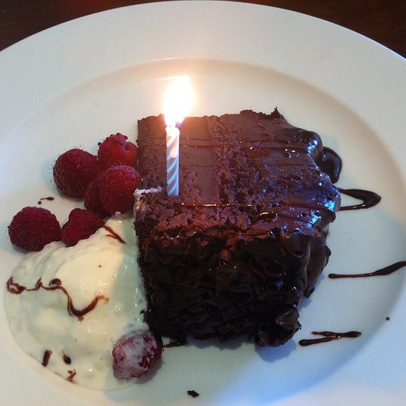 Complimentary Birthday Cake - TusCA Ristorante, Monterey, CA