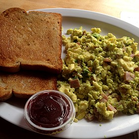 Green Eggs and Ham - Renaissance Cafe, Assaria, KS