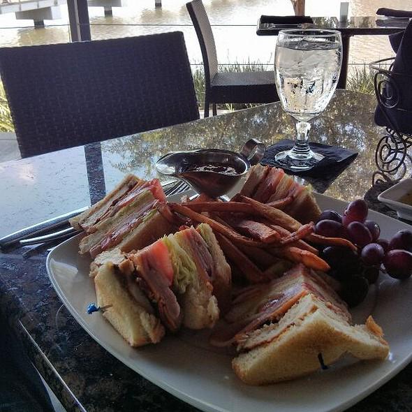 Club Sandwhich - Veritas Steak & Seafood, Sugar Land, TX