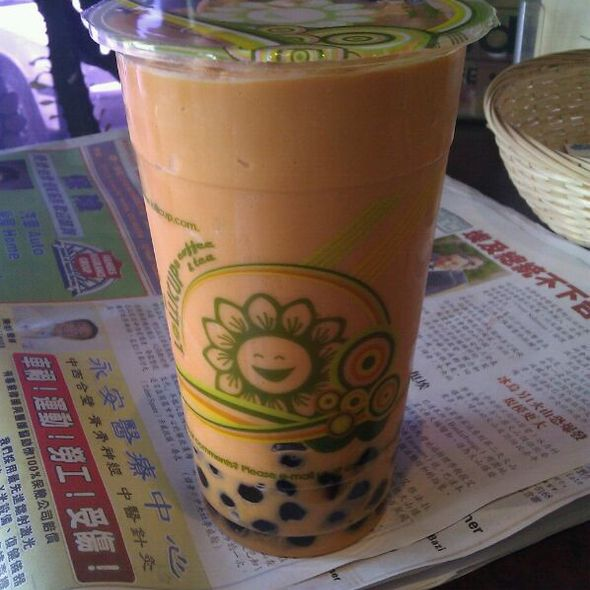 Thai Milk Tea With Boba