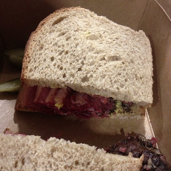 Pastrami on Rye @ Shorty Goldstein's