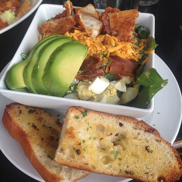 Cobb Salad Without Bacon And Croutons @ Neighborhood