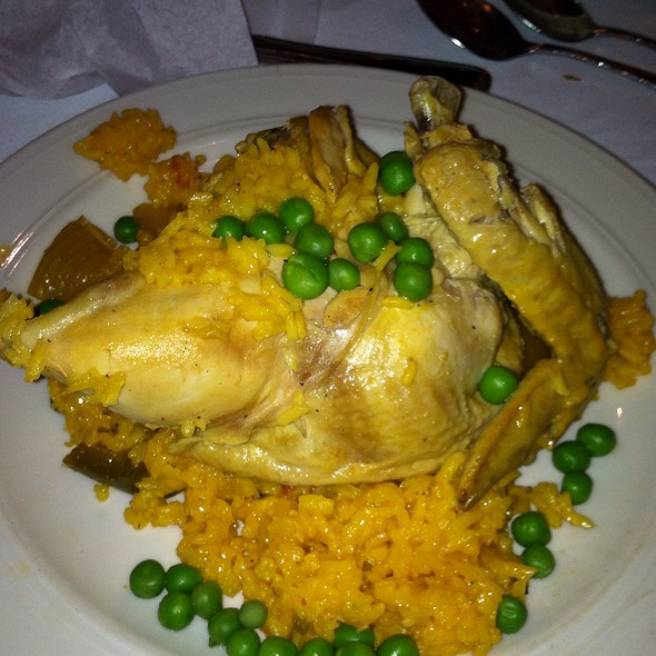 Chicken And Yellow Rice - Columbia Restaurant - Ybor City, Tampa, FL