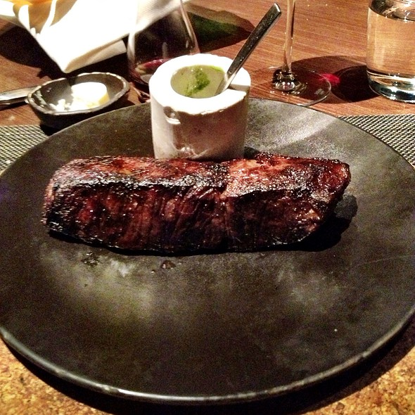 10 Oz Angus 300 Dry Aged Ny Strip @ Julian Serano