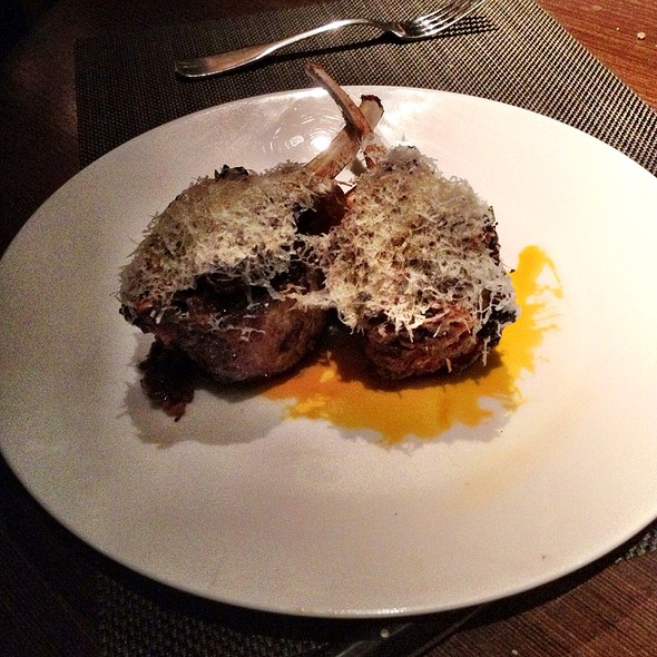 Colorado Lamb Chops @ Julian Serano