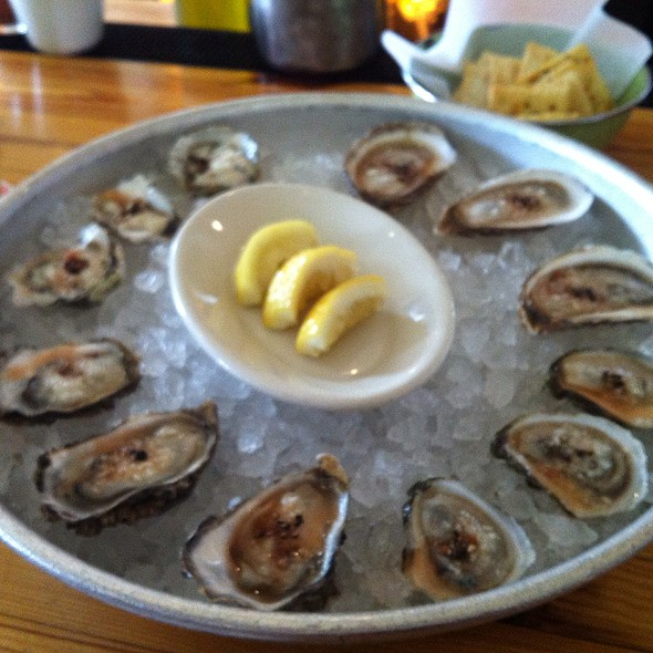 Fresh Oyster Dozen - Perla's Seafood and Oyster Bar, Austin, TX