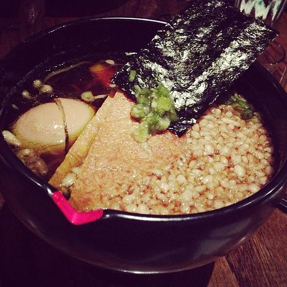 Wasabi shoyu ramen w/tamago egg