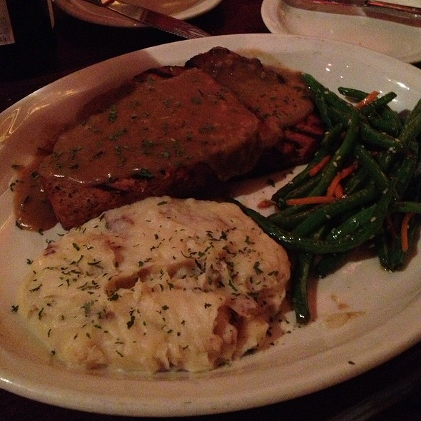 Meatloaf & Mashed Potatoes - Rudy's Redeye Grill, White Bear Lake, MN