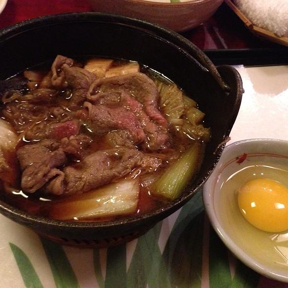 Beef Sukiyaki - Restaurant Nippon, New York, NY