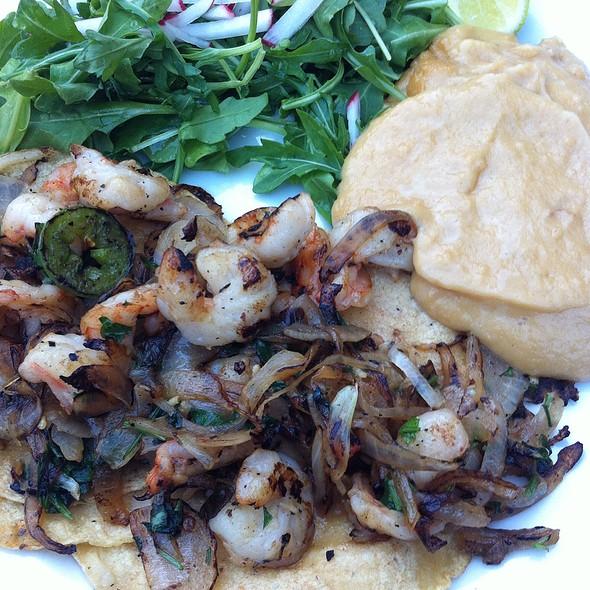 Shrimp Tacos - Dona Tomas, Oakland, CA
