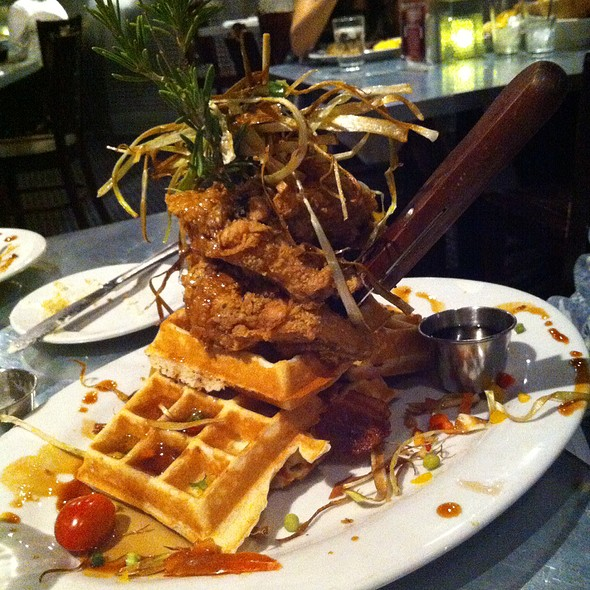 Sage Fried Chicken & Waffles @ Hash House A Go Go
