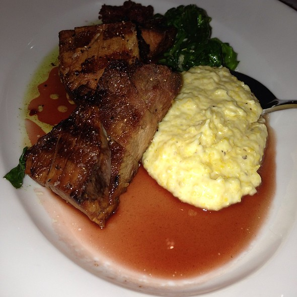 Pork Shoulder And Grits @ The Restaurant At The Cheshire