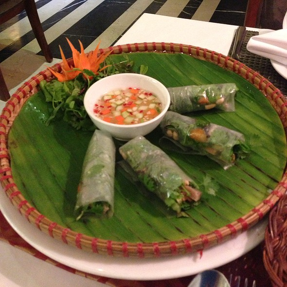 Spring Rolls @ Essence Cafe Restaurant