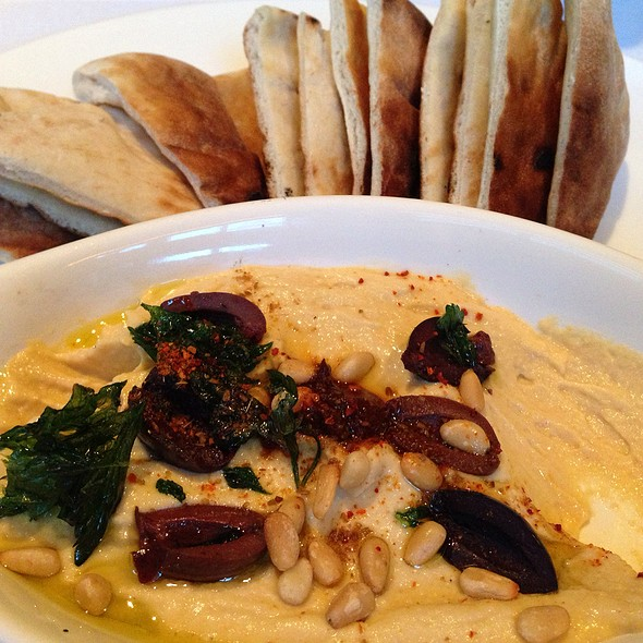 Hummus And Pita - Tortoise Supper Club, Chicago, IL